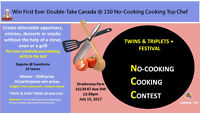 No-Cooking Cooking Contest @ Western Canada Twins&Triplets Fest.