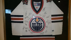 2003-04 Oilers Team Autographed Jersey