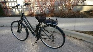 eBike conversion,almost new electric bicycle