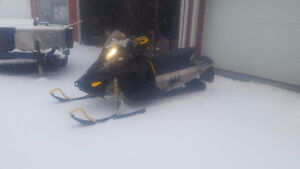 2008 Ski-doo 800r  Try your Trade