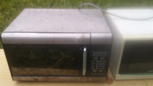 Two microwaves good working condition.