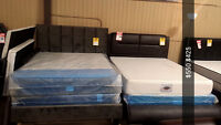 SALE SALE CLEARNACE SALE ON LEATHER BED JUST FOR $450 ONLY