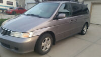 2000 Honda Odyssey Minivan, Van