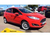 2015 Ford Fiesta 1.0 EcoBoost 125 Titanium X (N Manual Petrol Hatchback