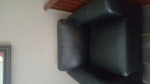 Pleather chair
