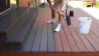 Deck & fence STAINING/ painting ! We make it look NEW!