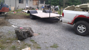 Hey wagon or wood comes with fire wood 1000$