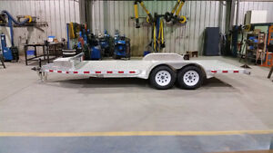 Custom Fabricated 16Ft Aluminum Trailer