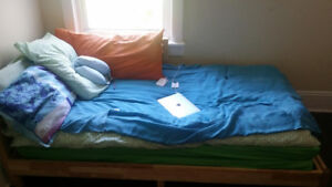 Ikea TARVA Daybed with 2 mattresses  $150 ($457 New, 1 year old)