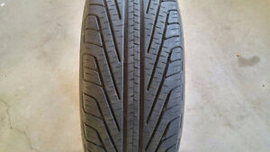 SET OF 4 215/65R16 M+S MICHELIN HYDROEDGE XSE ALL SEASON TIRES