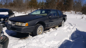 1992 mercury couger