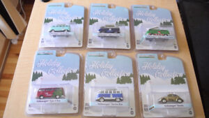 GREENLIGHT 1:64 2016 Christmas Holiday Collection all 6 type set