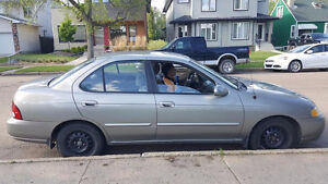 REDUCED Silver Nissan Sentra GXE 2002 LOW KM