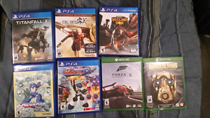 PS4 ...Xbox One Games