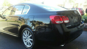 2009 LEXUS GS 350 BLACK WITH TAN INTERIOR!!!!!!