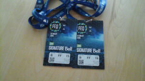Avenged Sevenfold - 2 billets zone signature Bell - FEQ