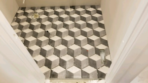 Experienced tile installers available