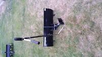 Craftsman Riding Mower Attachments- Snow Blade and Disc Harrow