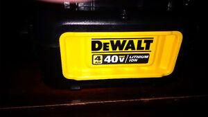 New DeWalt 40v Lithium Ion Battery 4H Peterborough Peterborough Area image 1