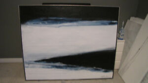 Many Large Abstract Paintings