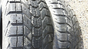 Two 15 inch car tires