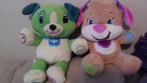 Leap frog toy and Fisher Price doggy