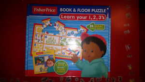 Fisher-Price puzzles and others
