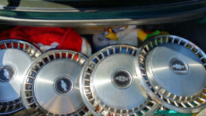 """CLASSIC 14"""" CHEVY HUBCAPS"""