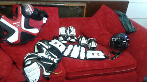 Lacrosse gear - early teen