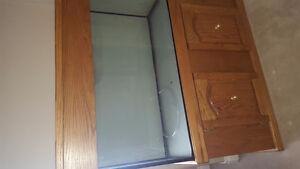 Fish tank cabinet still available