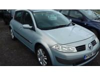 2004 RENAULT MEGANE 1.9 DIESEL long mot ( JUST £995 ono )