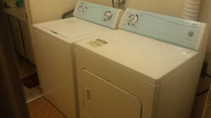 Inglis Super capacity & Extra Large washer dryer set