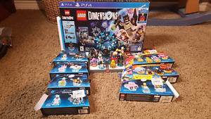 Lego dimensions starter pack and more playstation