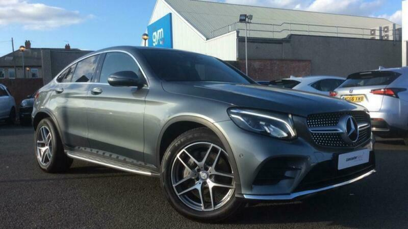 2017 Mercedes-Benz GLC Class Coupe 2 1d GLC220d AMG Line Prem 4MATIC Diesel  grey   in Newcastle, Tyne and Wear   Gumtree