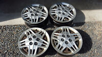 """16"""" rims (5 x 115mm) and hubcaps"""