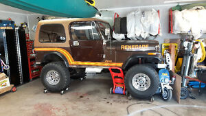 jeep cj, yj body tub amc 4x4