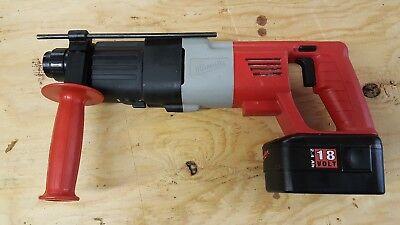 Heavy Duty Milwaukee 5361-20 18 Volt 34-inch Rotary Hammer Wcase Bare Tool