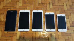 Unlocked smartphones for sale (Apple & Samsung) see description