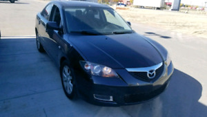 2008 Mazda 3. Auto. Low kms
