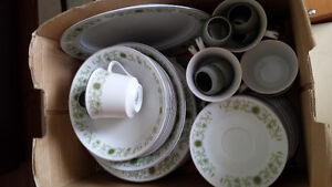 Town house dishes