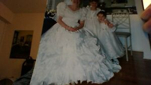 Princess Wedding Gown and Veil with Accessories - Reduced Peterborough Peterborough Area image 4