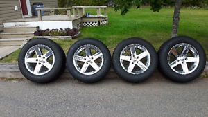 Ram wheels and tires.
