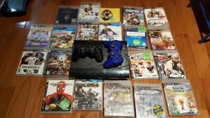 Ps3 + 20 games