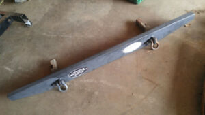 Jeep Cherokee XJ rear bumper and hitch