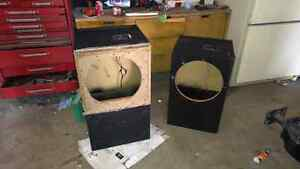 2 15 inch ported sub boxes