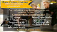 Home Fitness Training - Personal Training