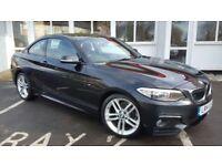 BMW 2 SERIES 218d M Sport (black) 2014