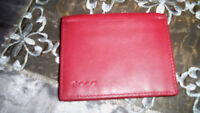 BRAND NEW ECCO Soft Leather Single Fold ID Wallet! $SAVE$$