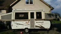 Rockwood HW258 high wall  tent trailer