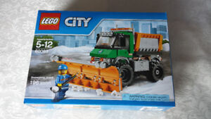 Lego City Snowplow Truck 60083 New Sealed